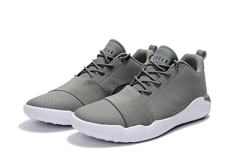 2017 Jordan Breakthrough Grey White Basketball Shoes