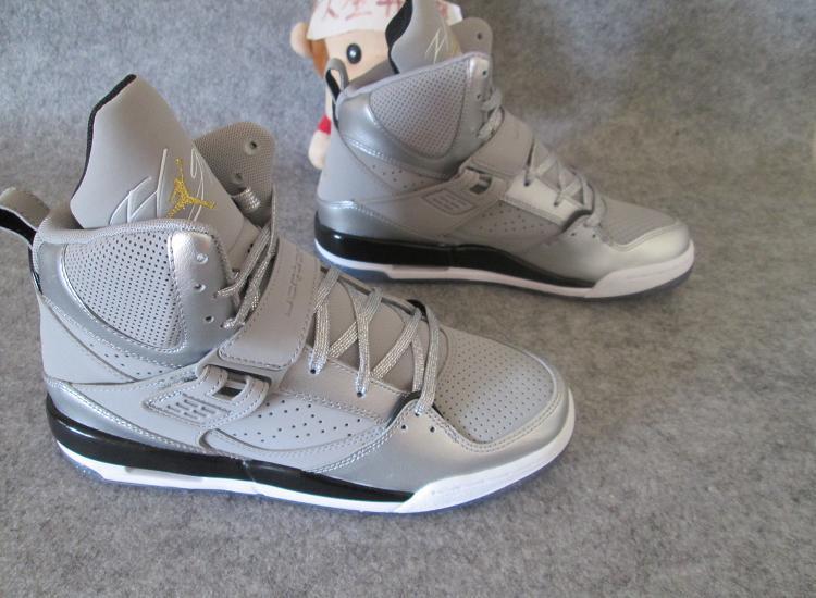 New Air Jordan Flight 45 Dream Silver Shoes For Women