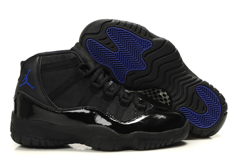Air Jordan Retro 11 Black Blue