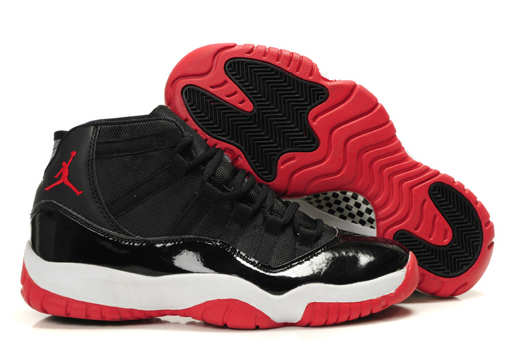 Air Jordan Retro 11 Black White Red