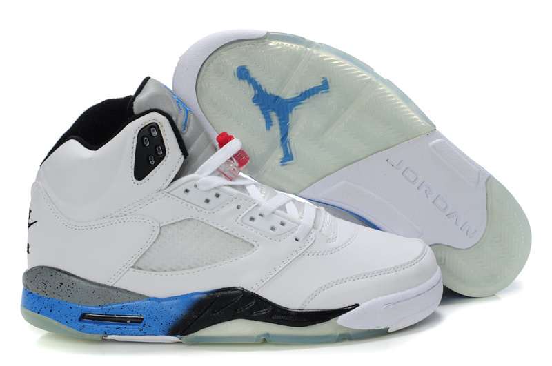 Air Jordan 5 Blue Grey