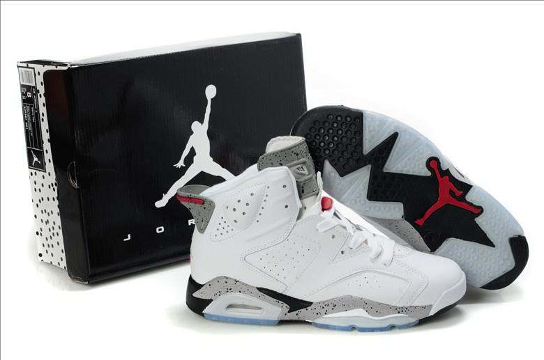Air Jordan Retro Shoes For Sale4 (IV) Retro Black / Cement Grey
