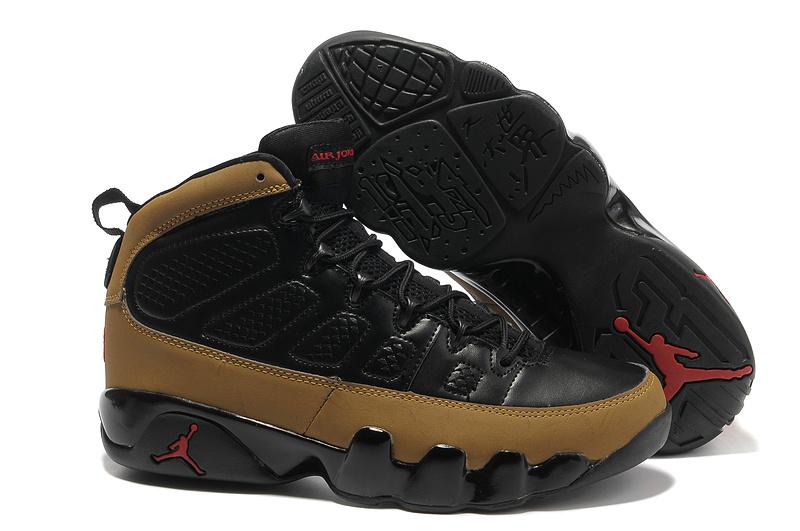 air jordan retro 9 black and brown