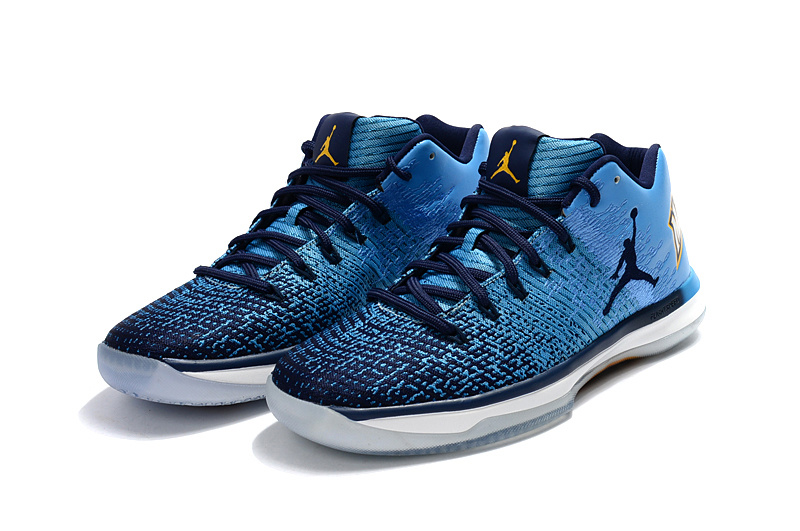 2017 Jordan XXXI Low Blue Black Shoes
