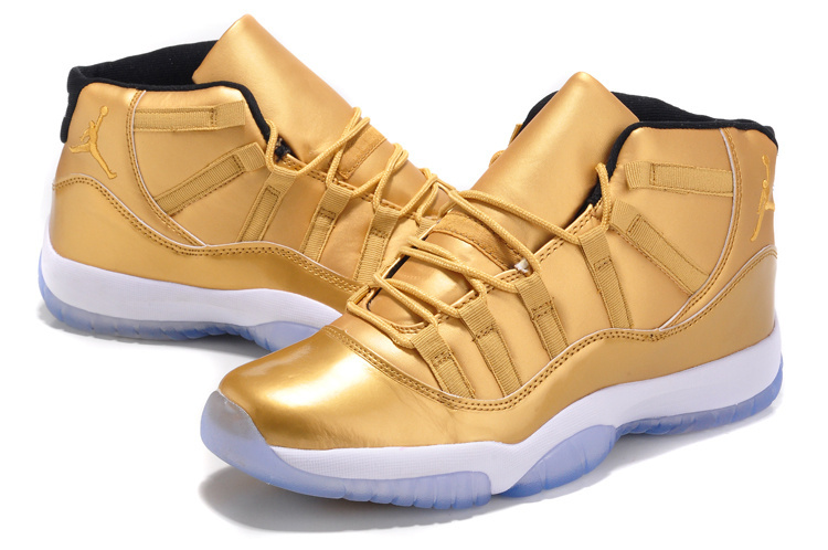 2015 Air Jordan 11 Retro Gold Shoes