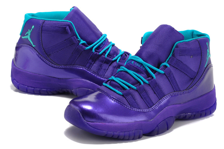 2015 Air Jordan 11 Retro Purple Shoes