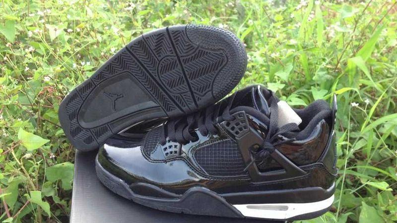 2015 Air Jordan 4 Retro All Black Shoes
