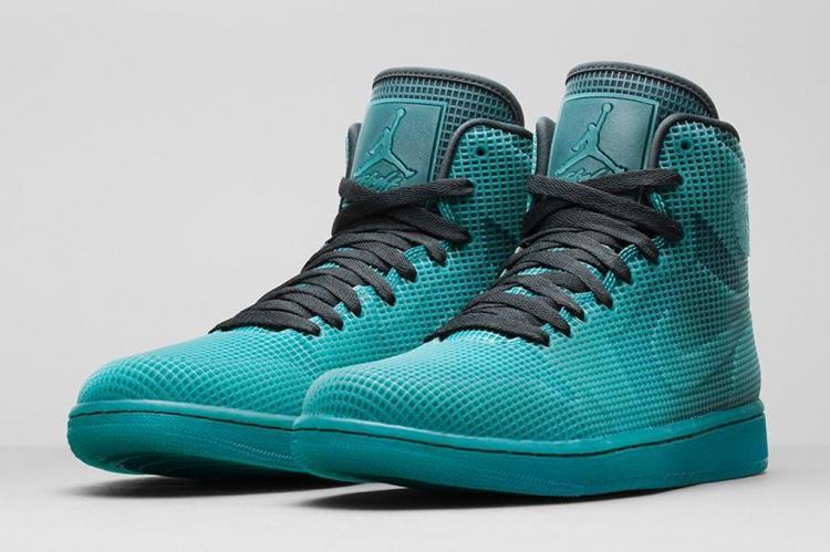 2015 Air Jordan 4LAB1 Green Black Shoes