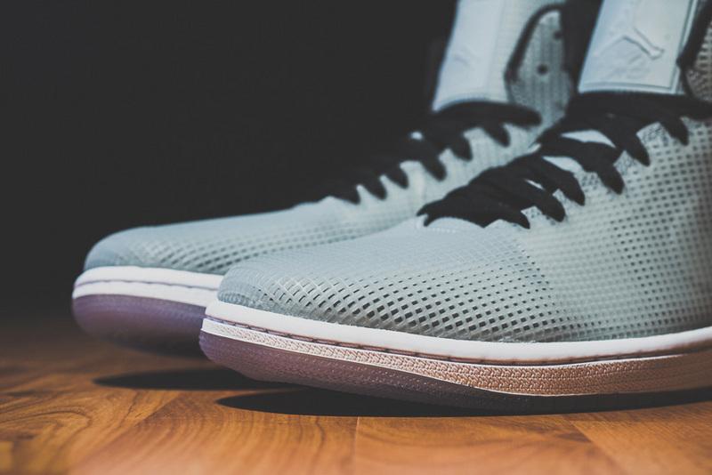 2015 Air Jordan 4LAB1 Grey Black Shoes