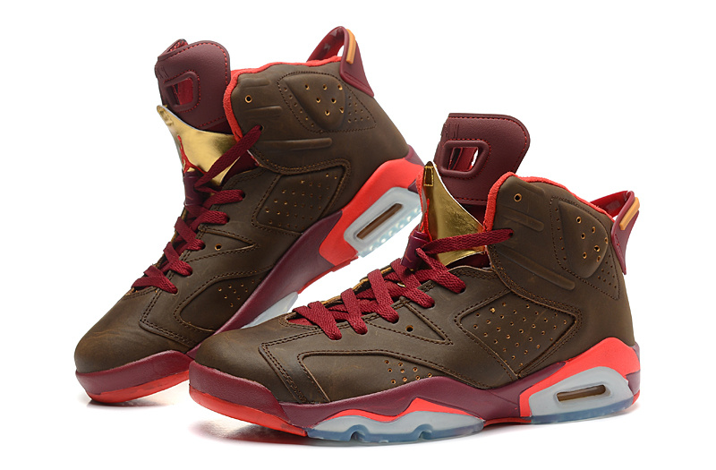 New Jordan 6 Cigar Chanpagne Retro Shoes
