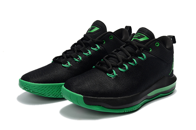 2017 Jordan CP3 X Elite Black Green