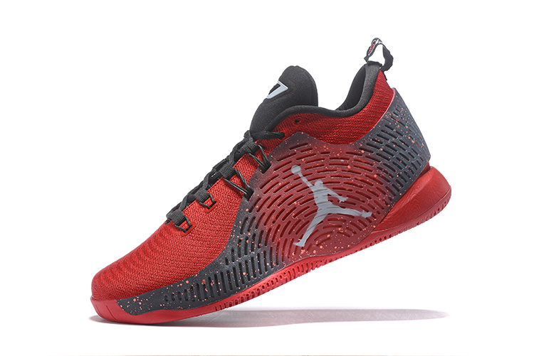 2016 Air Jordan CP3 X Red Black White Shoes