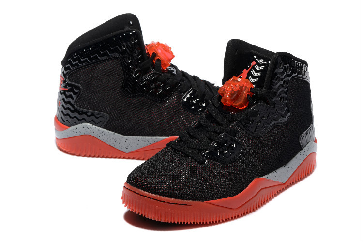2016 Jordan Spizike 2 Black Red Shoes