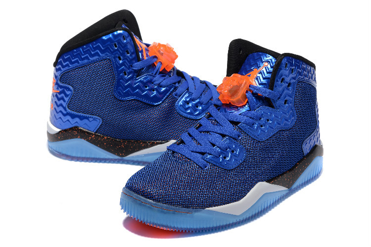 2016 Jordan Spizike 2 Blue Orange Shoes