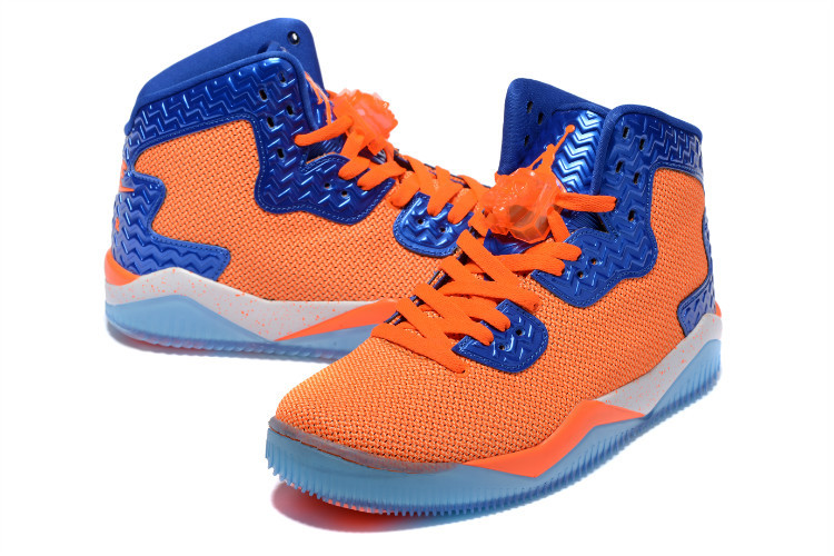 2016 Jordan Spizike 2 Orange Blue Shoes