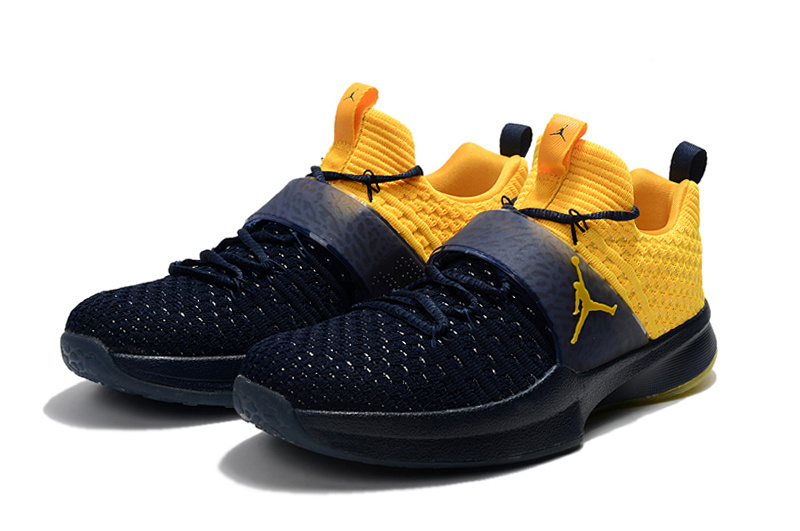 2017 Air Jordan Trainer II Deep Blue Yellow