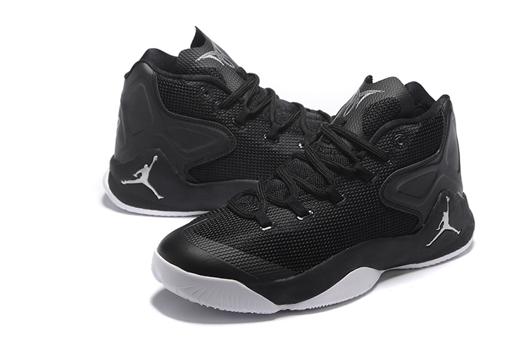 Jordan Carmelo 12 Black White Basketball Shoes