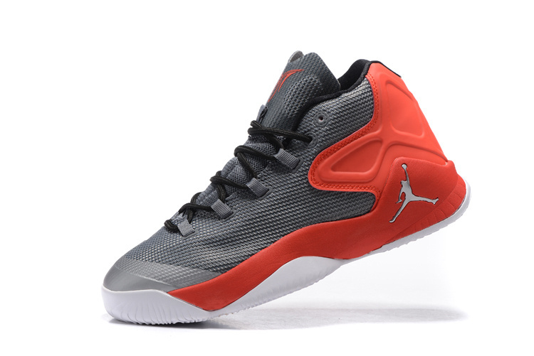 Jordan Carmelo 12 Grey Red Basketball Shoes