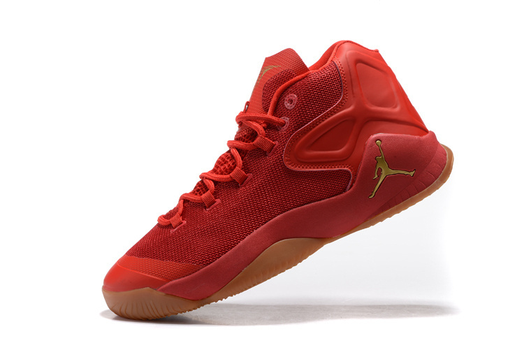 Jordan Carmelo 12 Red Yellow Basketball Shoes