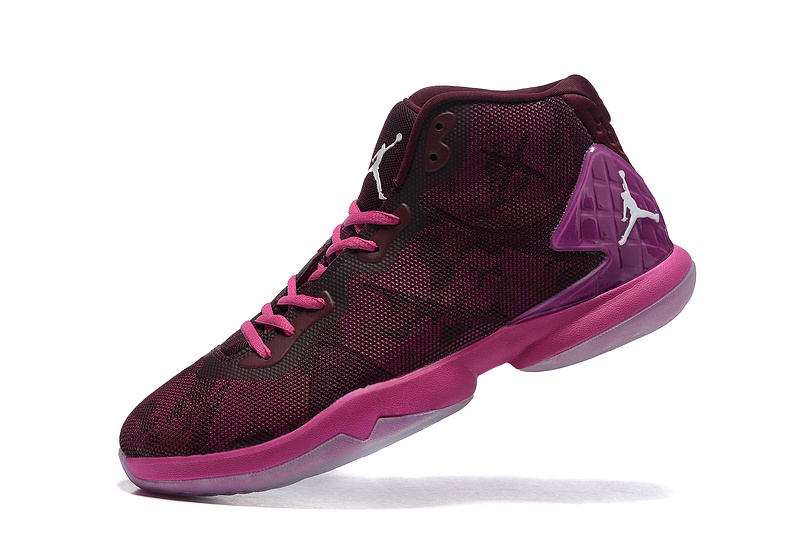 Jordan Fly 4 Griffin Purple Red Basketball Shoes
