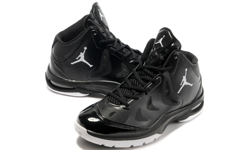 Nike Jordan Play In These Black White Basketball Shoes