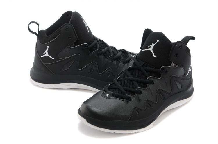 Nike Jordan Prime Mania X All Black Basketball Shoes