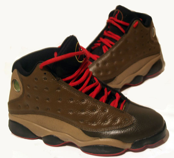 Official Air Jordan 13 High Brown Shoes