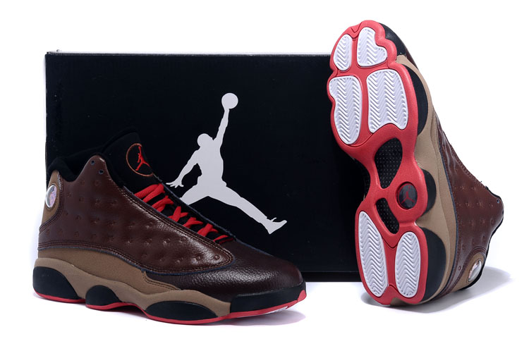 Official Air Jordan 13 High Chocolate Shoes
