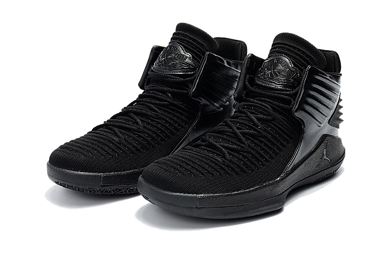 2018 Women Air Jordan 32 All Black