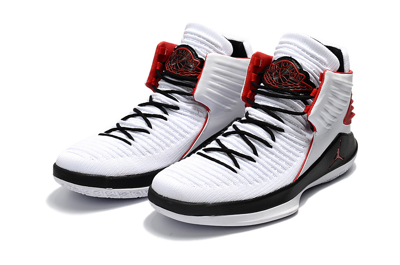 2018 Women Air Jordan 32 White Black Red