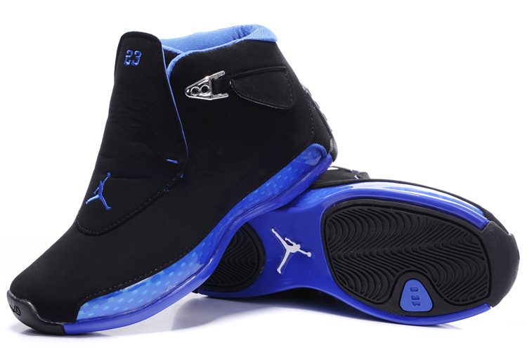 the best attitude e8a67 a5168 ... Retro Shoes,nike clearance,multiple colors Women Jordan 18 Black Blue  Shoes ...