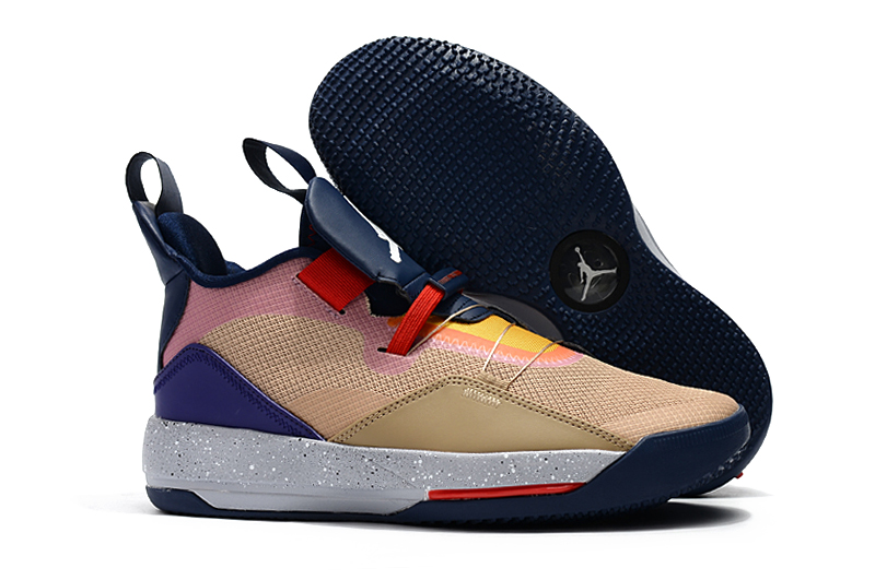 Women Air Jordan 33 Seven Colors Shoes