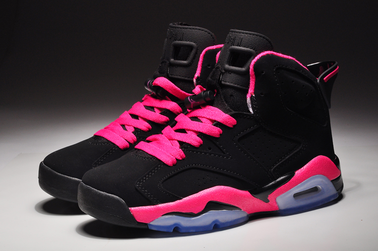 Women Air Jordan 6 Cool Pink Basketball Shoes