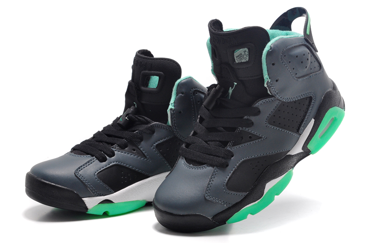 Women Air Jordan 6 South Coast Black Basketball Shoes