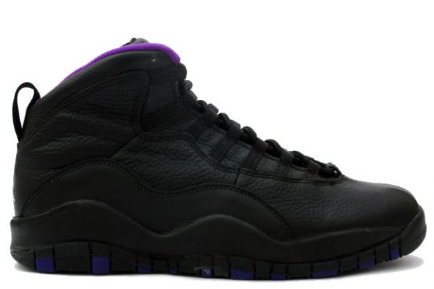air jordan 10 original sacramento kings black shoes
