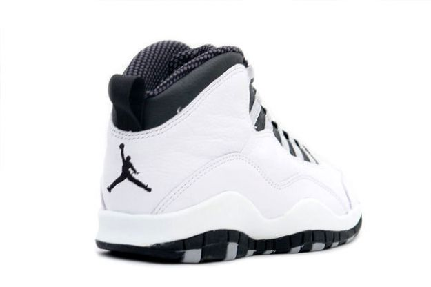 air jordan 10 black and white