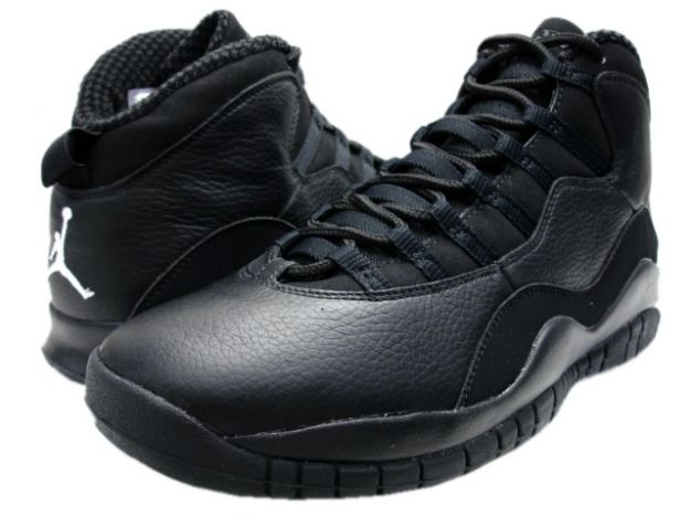 air jordan retro 10 black and white