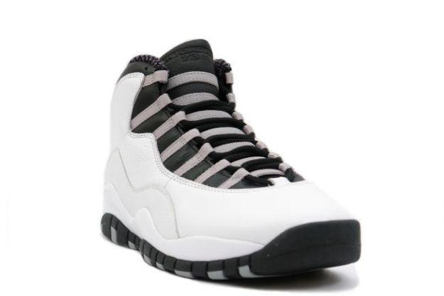 air jordan 10 black and white