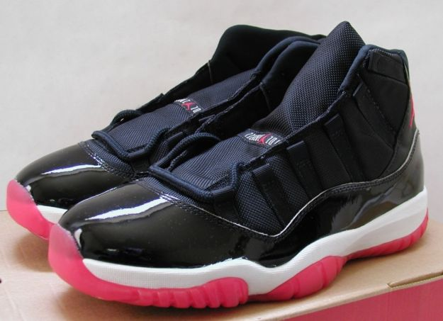 air jordan 11 original black true red white shoes shoes
