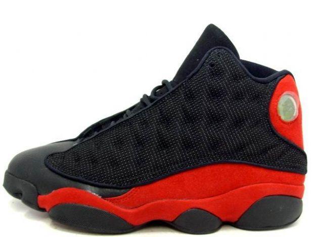 Air Jordan Retro 13 Hommes Noir / Varsity Rouge / Blanc gros rabais images de dégagement classique NVOlGOdxC