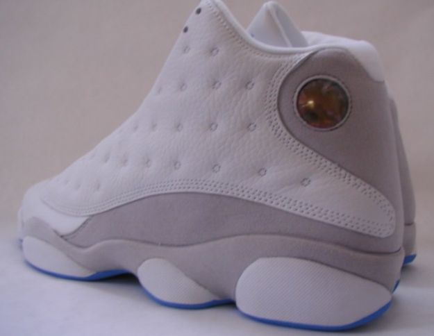 air jordan retro 13 white grey