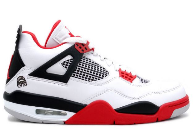 air jordan 4 retro mars blackmon white varsity red black shoes for sale online