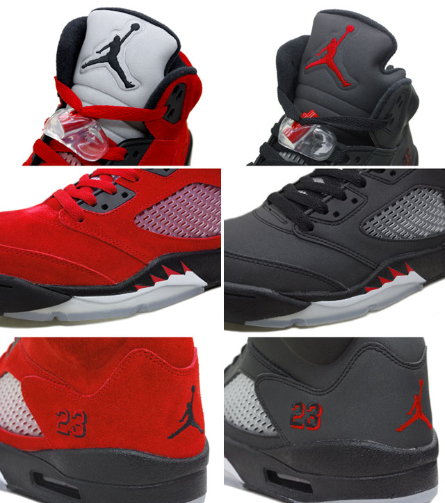 Air Jordan 5 Raging Bull Svart For Salg ZoaaAp0BY
