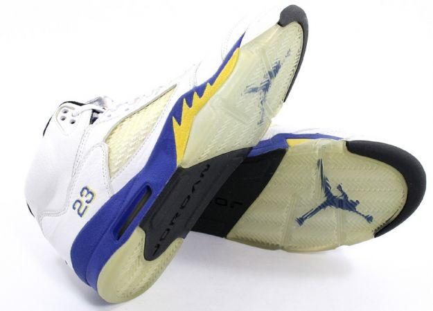 air jordan 5 retro laney white varsity royal varsity maize shoes for sale online