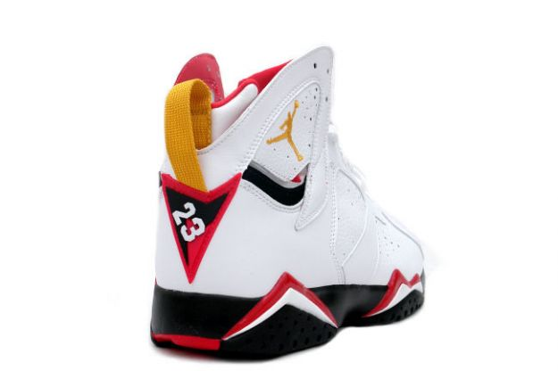 cheap air jordan 7 retro cardinals white black cardinal red bronze shoes