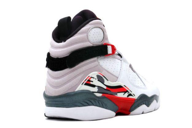 low priced b306a 654bf air jordan 8 shoes men red white black  air jordan 8 retro white black true  red shoes