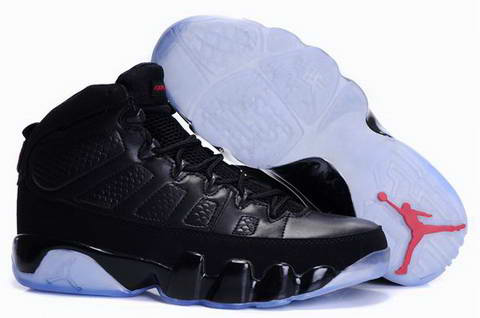 air jordan 9 retro all black shoes