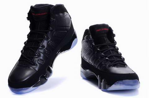 air jordan 9 all black